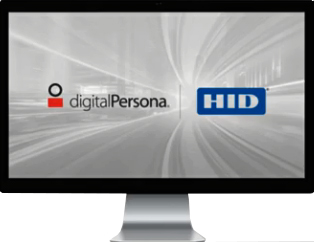 HID 93125-ALT-100. DigitalPersona Logon For Windows M&S, 1 год